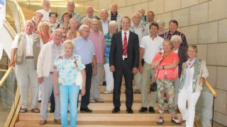 IG Metall Oberberg besucht Roland Adelmann im Landtag