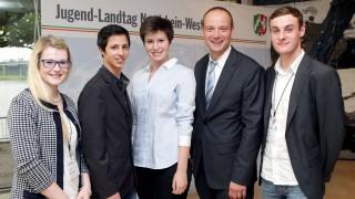 Oberberg-Süd beim Jugend-Landtag vierfach vertreten
