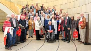 Wiehler Senioren und Hospiz-Mitarbeiter zu Besuch