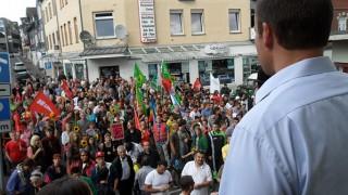 Lauter Protest gegen Rechts